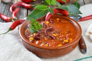Susan' Vegetarian Chili
